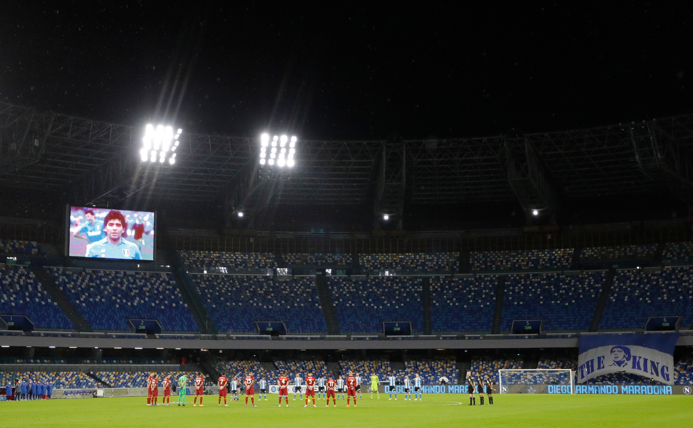 Stadion San Paolo/Foto REUTERS