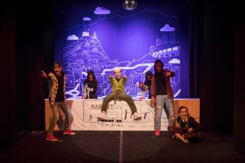 Predstava Flekavac / Foto GKL Rijeka