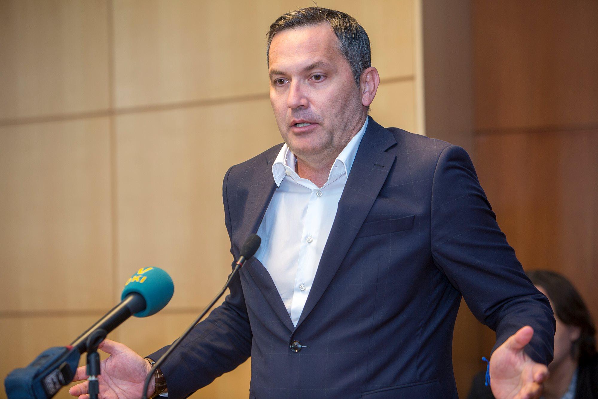 """Novi predsjednik HNS-a Marijan Kustić: """"Zdravko Mamić nema utjecaja u Savezu"""""""