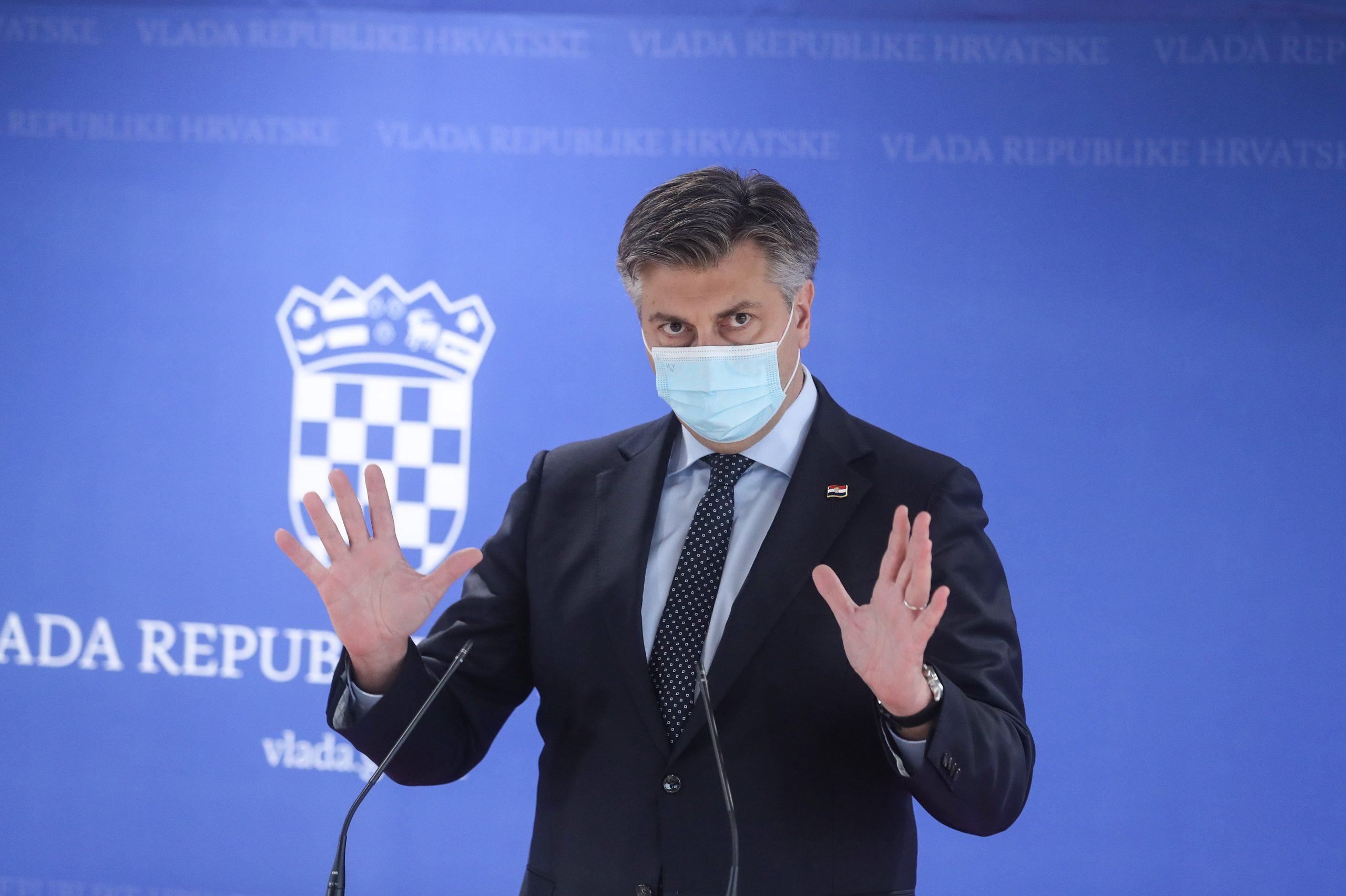 Andrej Plenković / Foto: Zeljko Lukunic/PIXSELL
