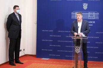 Peđa Grbin i Boris Lalovac / Patrik Macek/PIXSELL