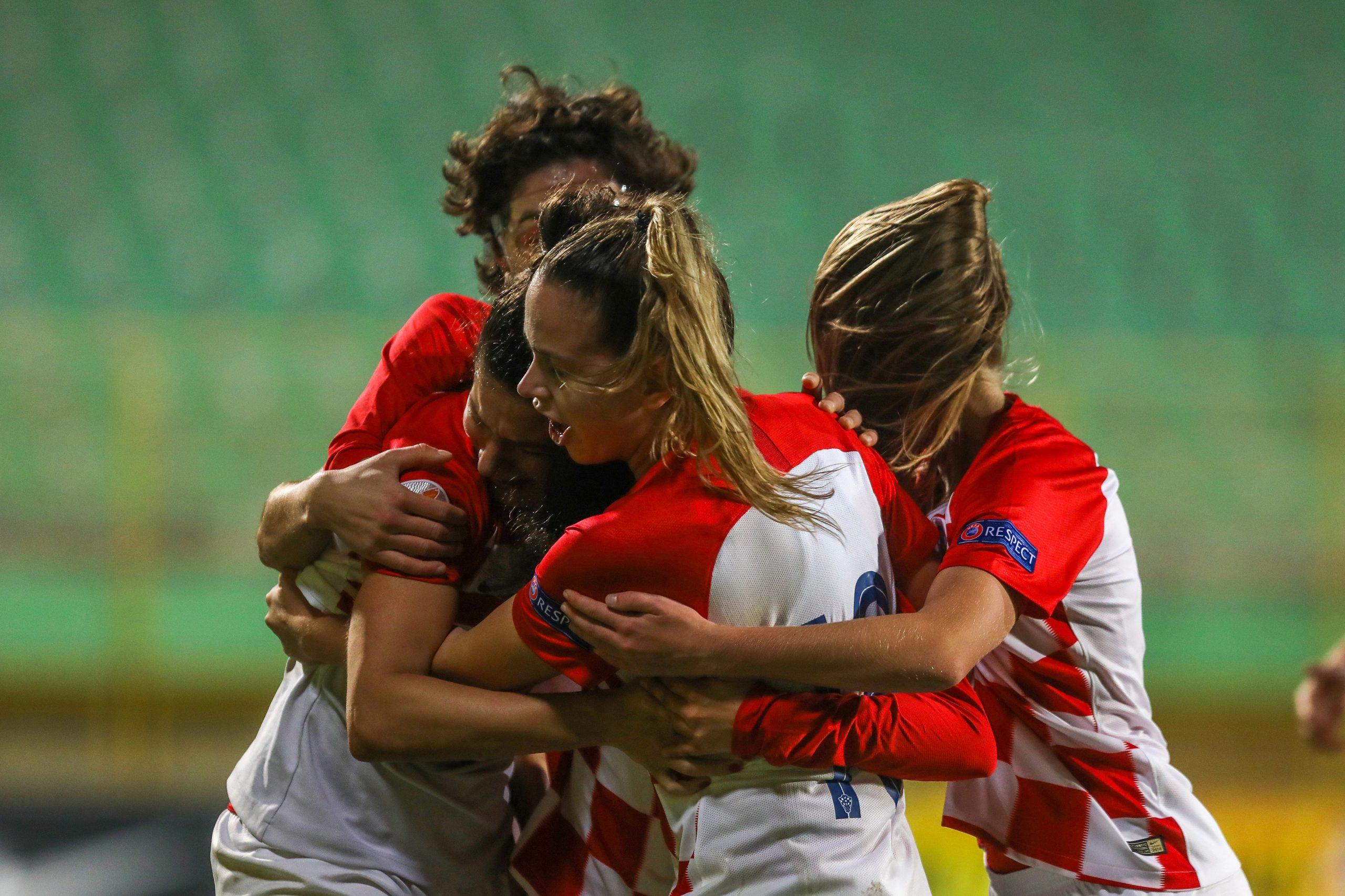 Nogometašice Hrvatske/Foto PIXSELL