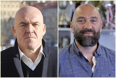 Aramis Naglić i Samir Barać/Foto Arhiva NL