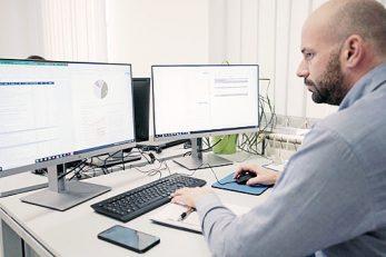 Nikša Kalčić, član uprave i voditelj Aestus knjigovodstvenog tima koji brine za više od 100 poduzetnika