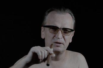 Brijuni – pokušaj prizivanja mrtvih: Behzad Khosravi Noori i Magnus Bärtås s Paulom Kupelwieserom i Josipom Brozom Titom