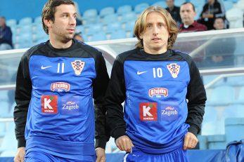 Dario Srna i Luka Modrić/Foto Arhiva NL