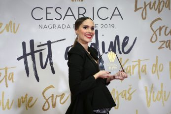Prošlogodišnja dodjela nagrade publike za hit godine - Cesarica 2019. Franka Batelic. Photo: Matija Habljak/PIXSEL