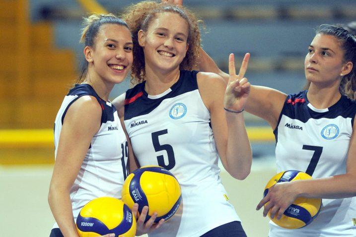 Andrea Koraca, Mara Štiglić i Anja Žarković/Foto Arhiva NL