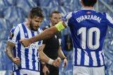 Cristian Portu i Mikel Oyarzabal (Real Sociedad)/Foto REUTERS