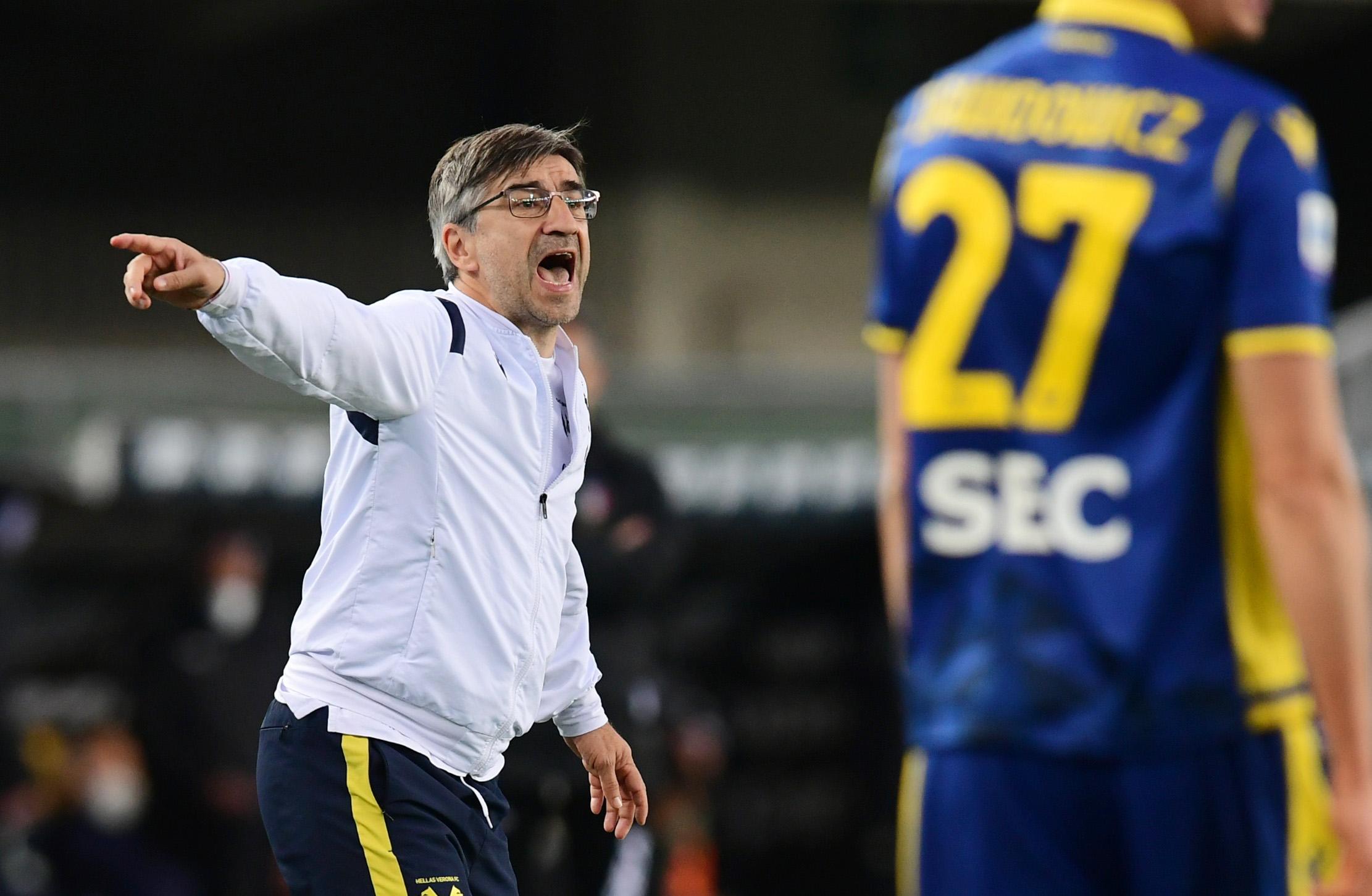 Trener Verone Ivan Jurić/Foto REUTERS