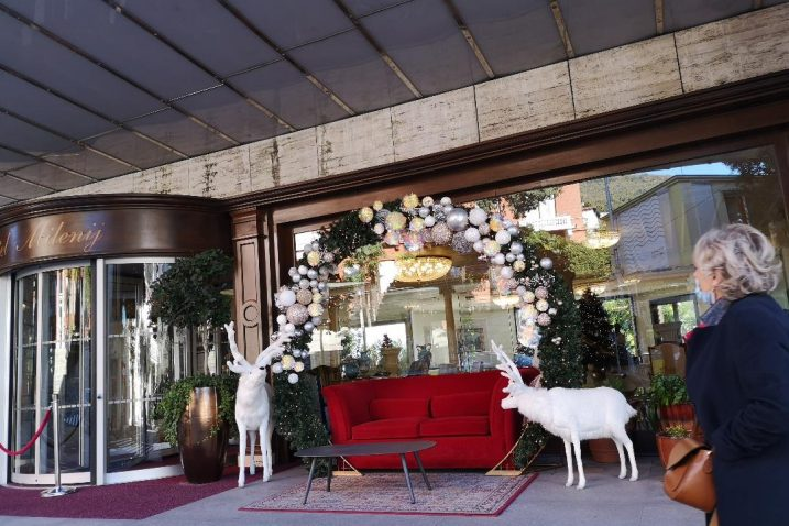 Opatijski hotel Milenij u blagdanskoj atmosferi čeka goste / foto A. KUĆEL-ILIĆ
