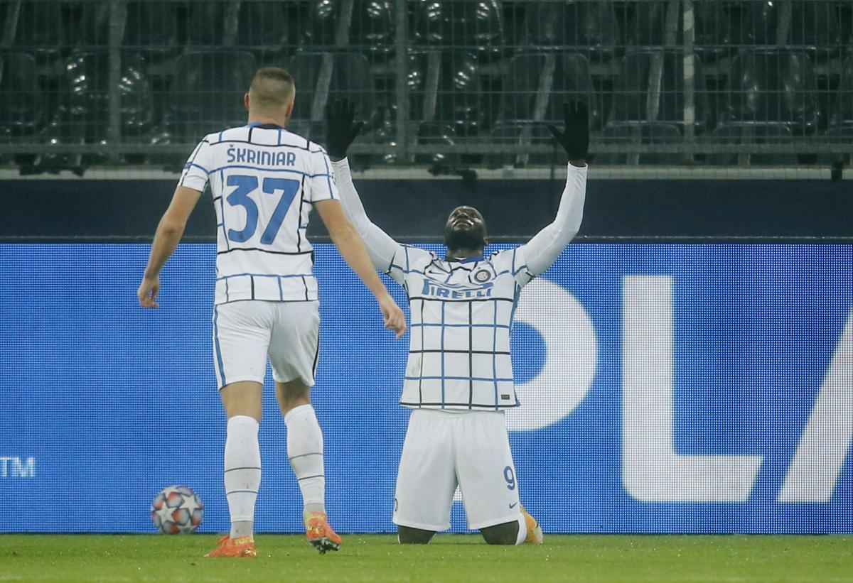 Romelu Lukaku slavi pogodak/Foto REUTERS