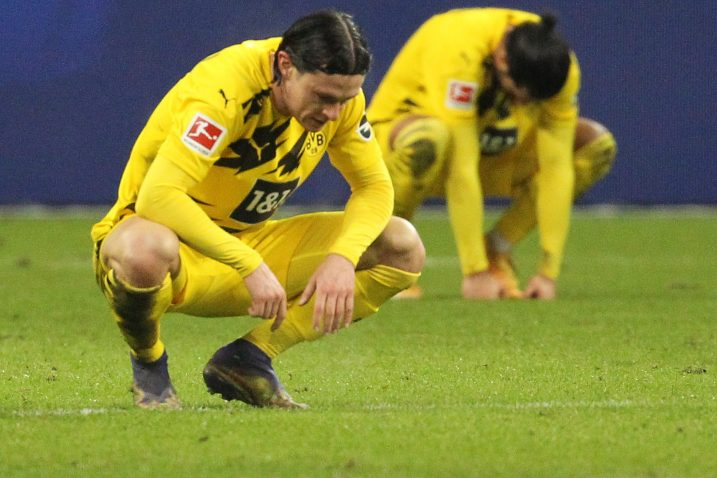 Nico Schulz (Borussia Dortmund)/Foto REUTERS