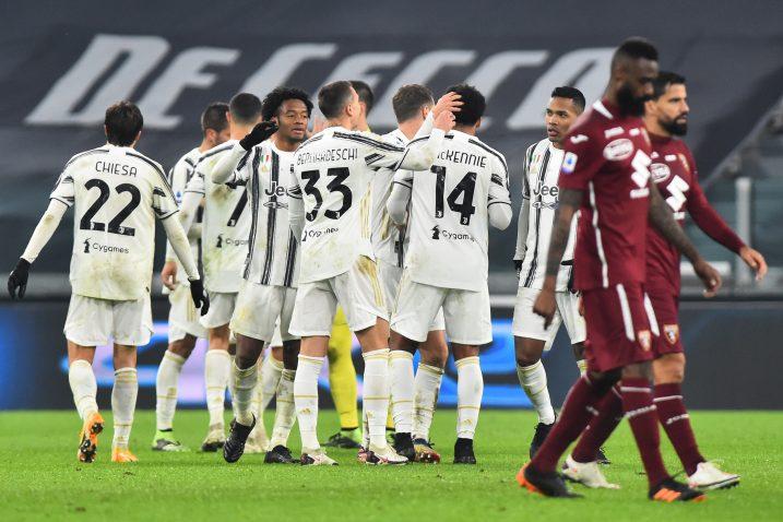 Slavlje nogometaša Juventusa/Foto REUTERS