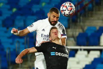 Karim Benzema je ovom prilikom nadvisio Matthiasa Gintera/Foto REUTERS