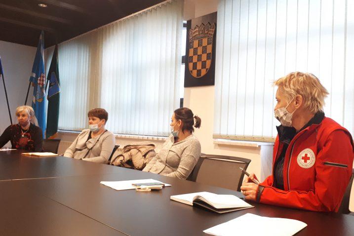 Tanja Jakovac, Ksenija Petelin, Gordana Grgurić i Snježana Krizmanić / Foto D. PLEŠE