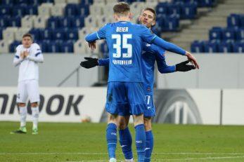Andrej Kramarić i Maximilian Beier/Foto REUTERS