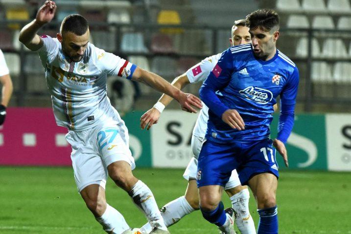 Ivan Tomečak ozlijedio se u Kup utakmici protiv Varaždina/Foto M. GRACIN