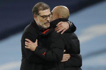 Slaven Bilić i Pep Guardiola/Foto REUTERS