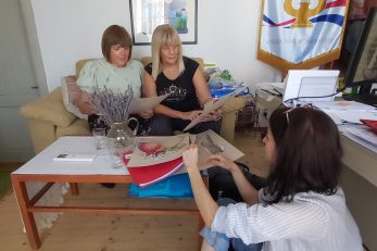 Vedrana Spadoni Štefanić, Loretta Begonja i Sandra Dekanić