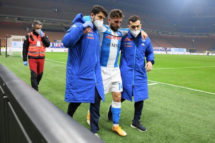 Mertens se ozlijedio u derbiju protiv Intera/Foto REUTERS