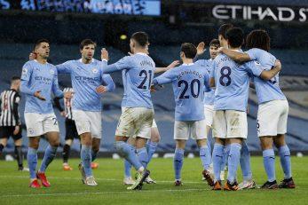 Slavlje nogometaša Manchester Cityja/Foto REUTERS