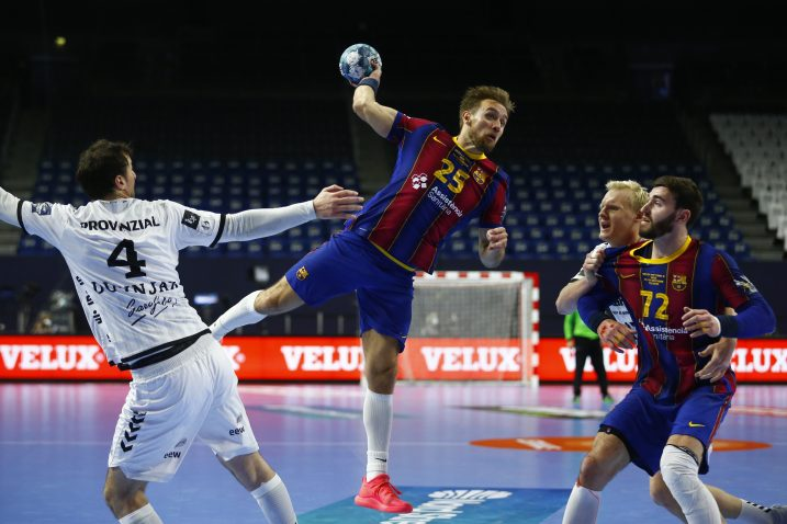 Luka Cindrić u dresu Barcelone/Foto REUTERS
