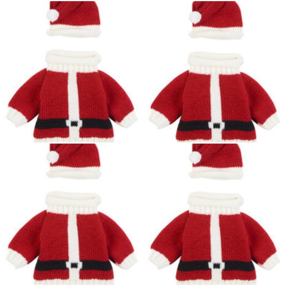 Kik - odijelo za malog djeda Božićnjaka koji je dominirati na obiteljskim fotografijama