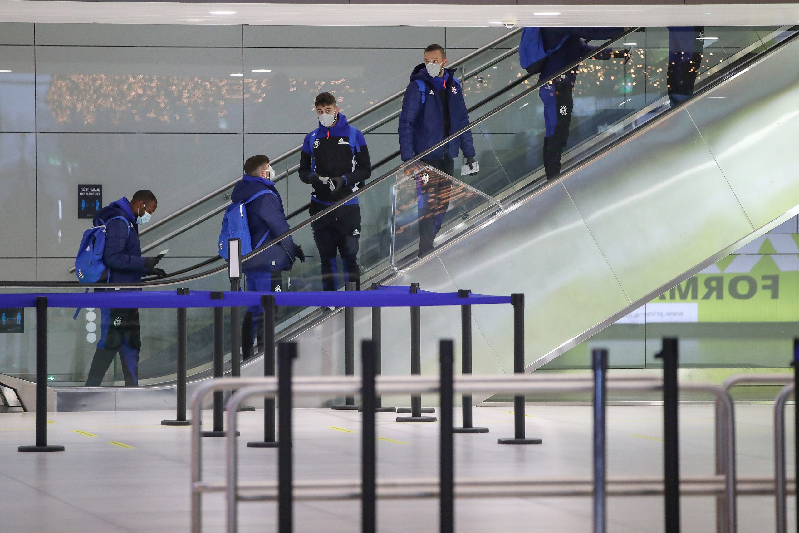 Modri u Zračnoj luci Franjo Tuđman/Foto PIXSELL