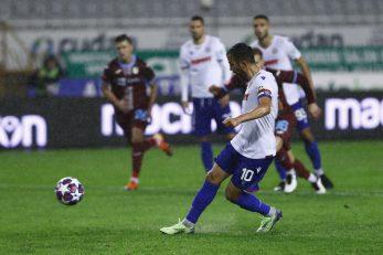 Mijo Caktaš nije iskoristio penal na samome kraju utakmice/Foto PIXSELL