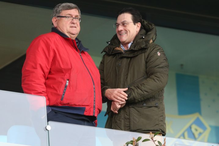 Vojko Obersnel i Damir Mišković/Foto PIXSELL