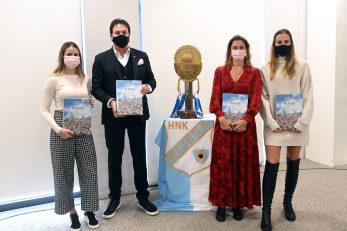 Damir Mišković s obitelji na predstavljanju monografije/Foto Arhiva NL
