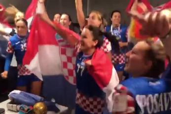 Hrvatske rukometašice slave povijesnu broncu/Foto screenshot Instagram, HRS