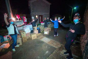 Humanitarna akcija prikupljanja odjeće za beskućnike u Fabcima