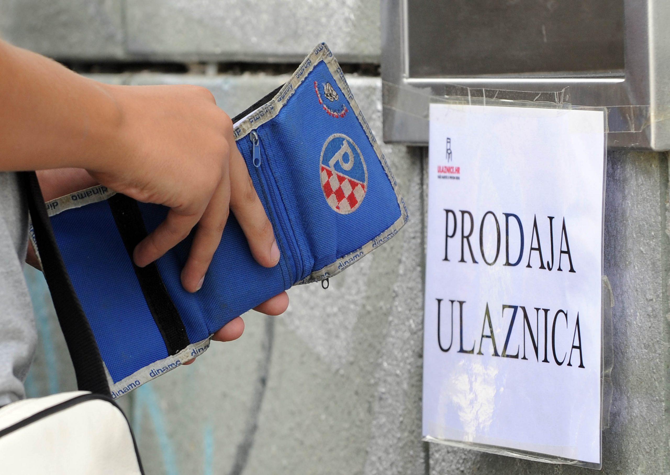 Naknadna preprodaja ulaznica trebala bi postati kažnjiva / Foto DAVOR KOVAČEVIĆ