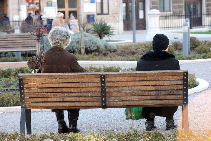 Iako podataka još nema, očekuje se da je više starijih osoba ženskog spola koje nisu ostvarile mirovinu te će koristiti naknadu / Foto SERGEJ DRECHSLER