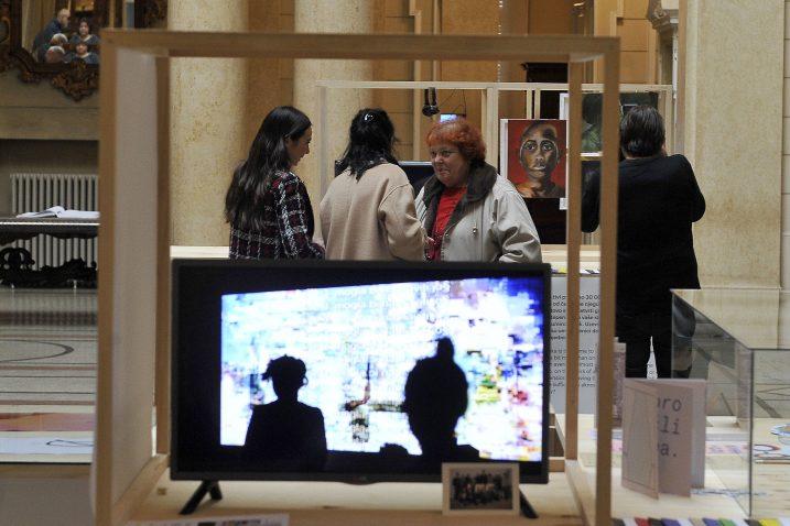 Vijeće je javnosti predstavilo i svoju prvu autorsku izložbu »Nevidljive granice« / Foto : ARHIVA NL