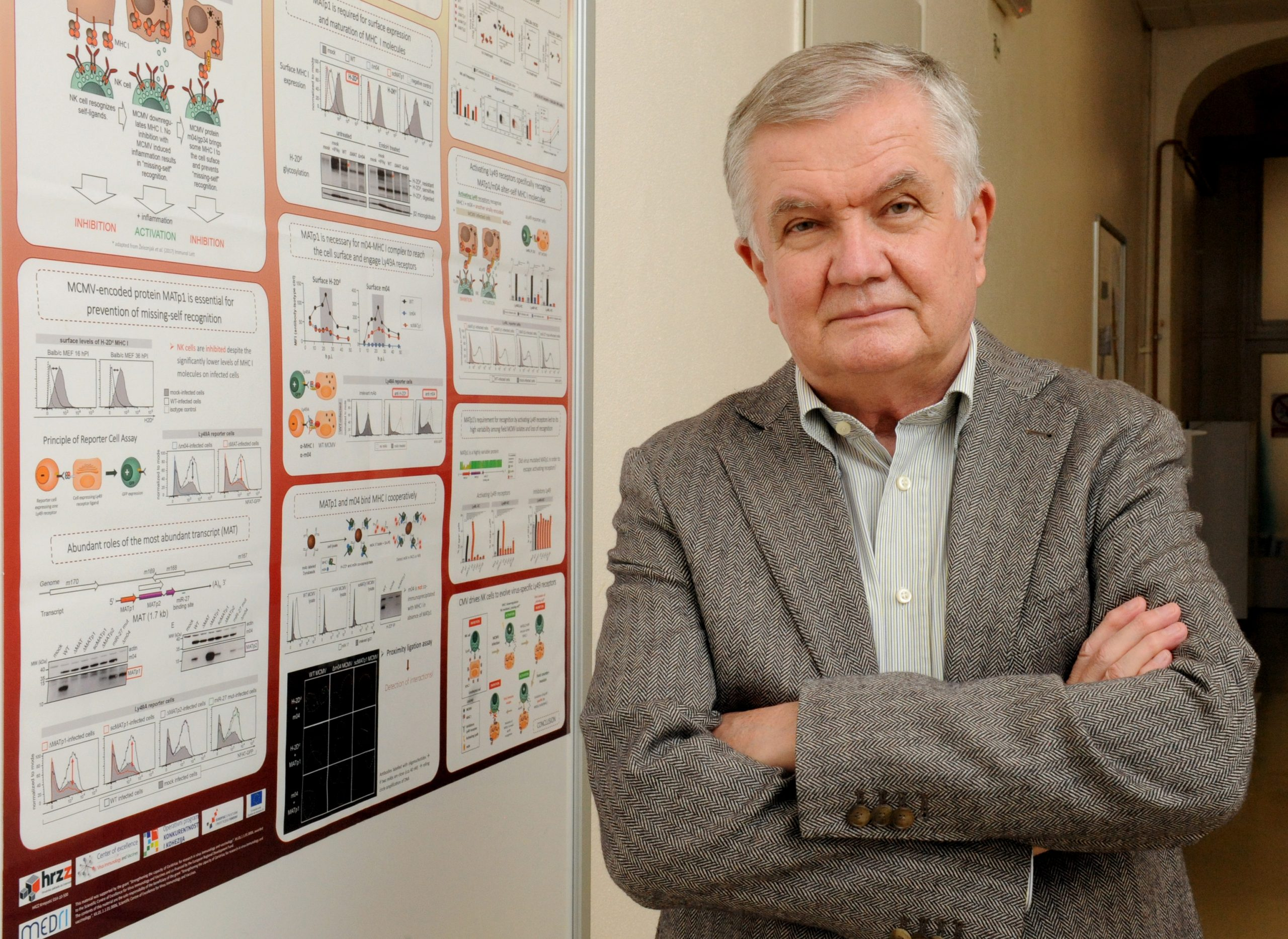 Prof. dr. Stipan Jonjić / Snimio MARKO GRACIN