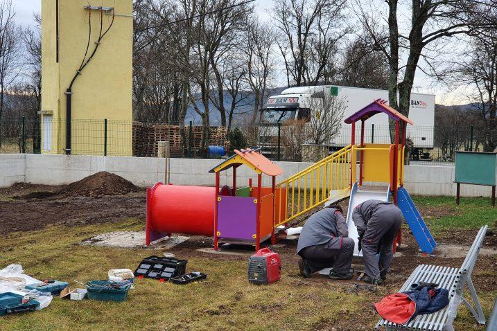 Prostor za igru bit će za djecu od dvije do sedam godina