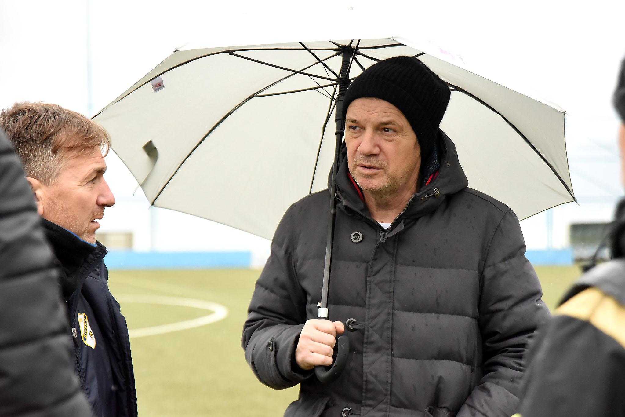 Trener Zoran Bogolin/Foto S. DRECHSLER