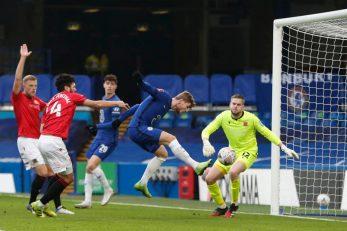 Timo Werner strijelac je drugoga pogotka Chelseaja/Foto REUTERS