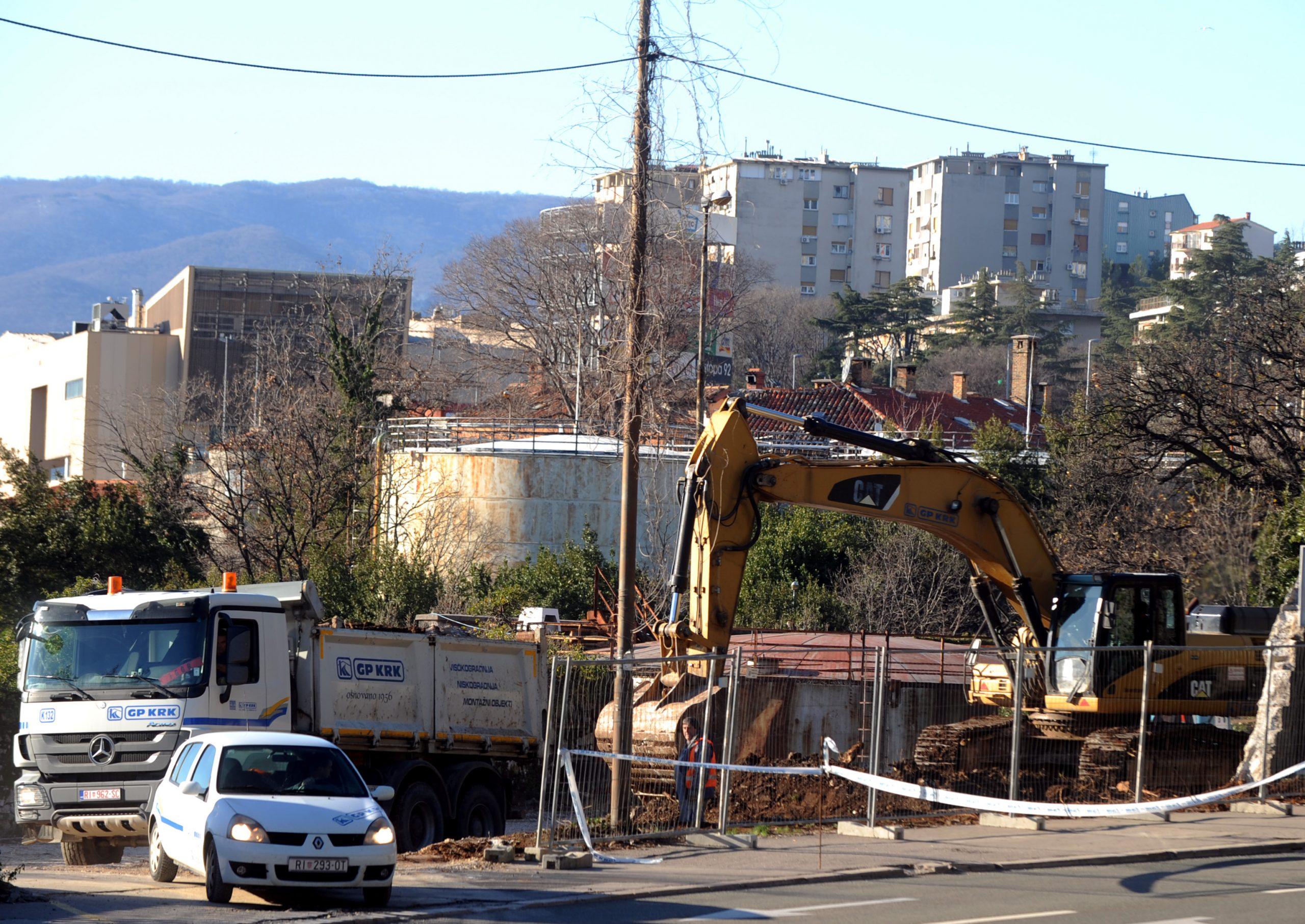 Mijenja se Zvonimirova ulica kod Novog lista / Foto M. GRACIN
