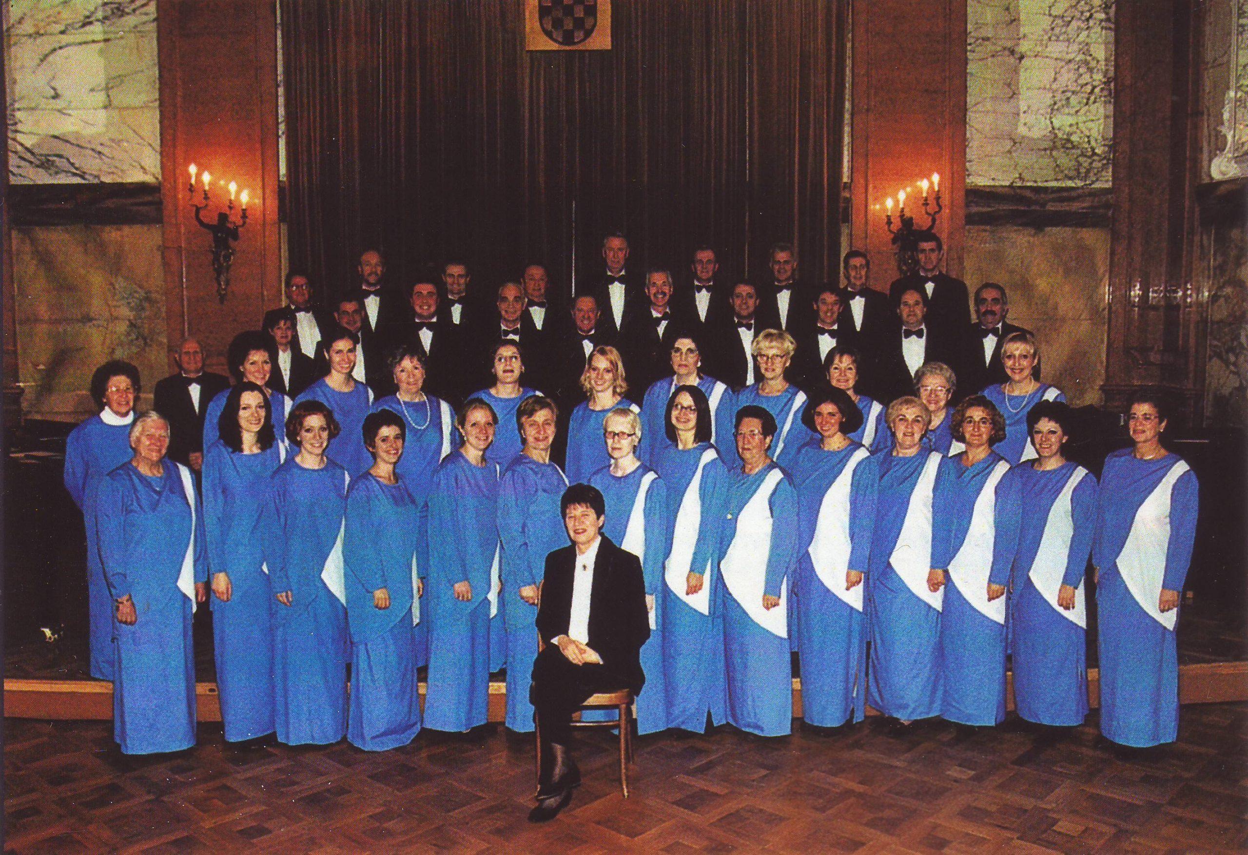 »Jeka Primorja« u Guvernerovoj palači s maestrom Aleksandrom Matić 2003.