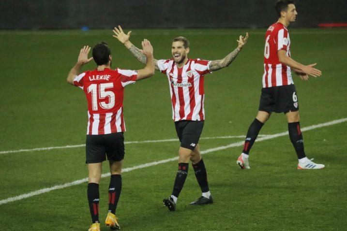 Igrači Athletic Bilbaa u slavlju/Foto REUTERS