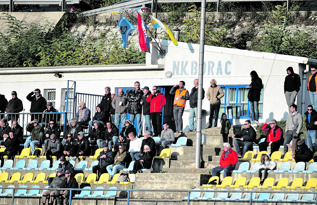 Bakarski stadion iz boljih vremena, bez korone / Foto D. ŠKOMRLJ