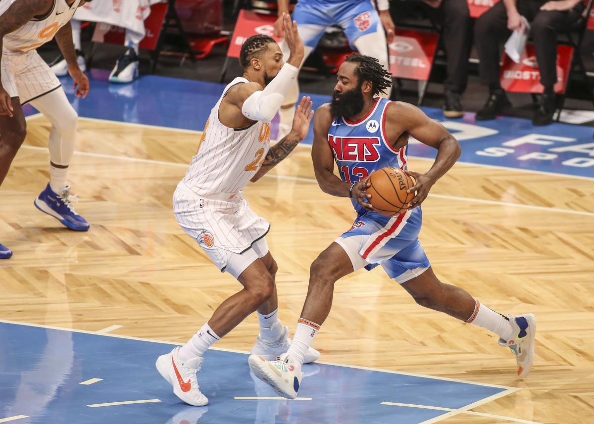 James Harden prvi put u dresu Netsa/Foto: REUTERS