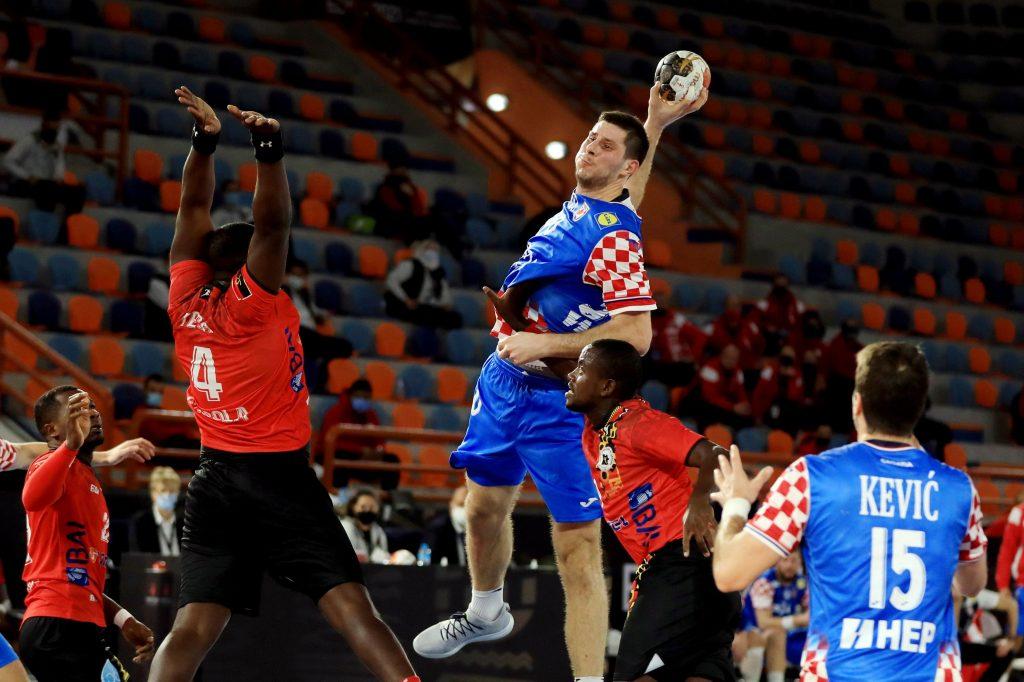 Marko Mamić protiv Angole/Foto: REUTERS