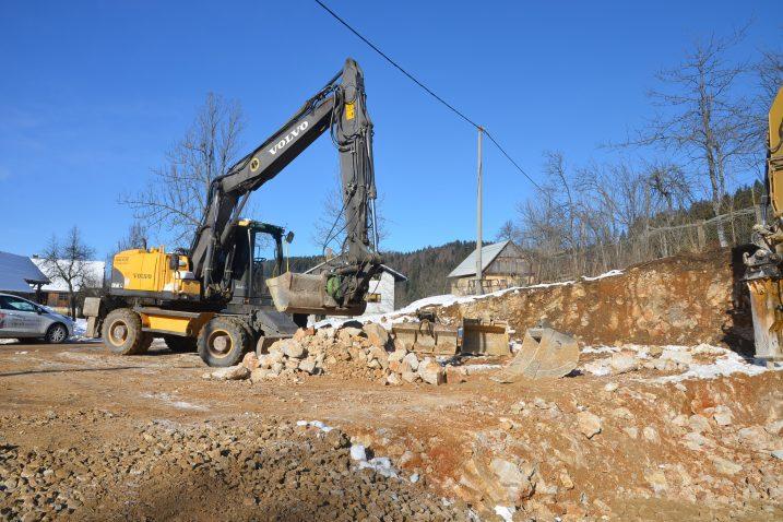 Građevinski radovi počeli su na vrijeme / Foto M. KRMPOTIĆ