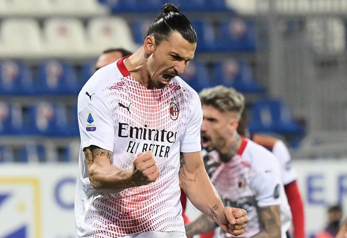Zlatan Ibrahimović slavi pogodak/Foto: REUTERS