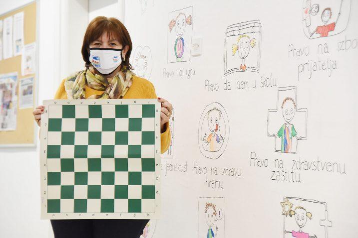 Sve je veći interes mladih za igranjem šaha – Julijana Plenča / Foto S. DRECHSLER